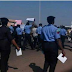 Angry Policemen Protest Against Bribery And Corruption On The Streets Of Kwara