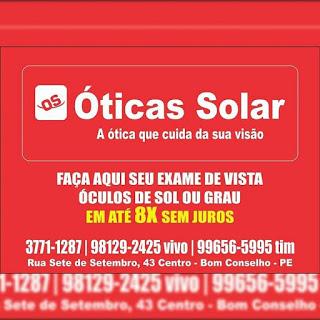 Blog do Tiago Padilha  Ótica Solar estará com exame de vista na ... 35fe7adca4