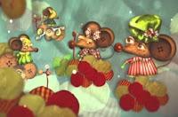 Canción para vestirse - ratones en camisones