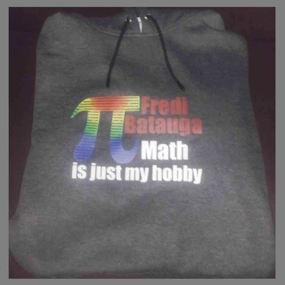 Hoodie Motif Matematika