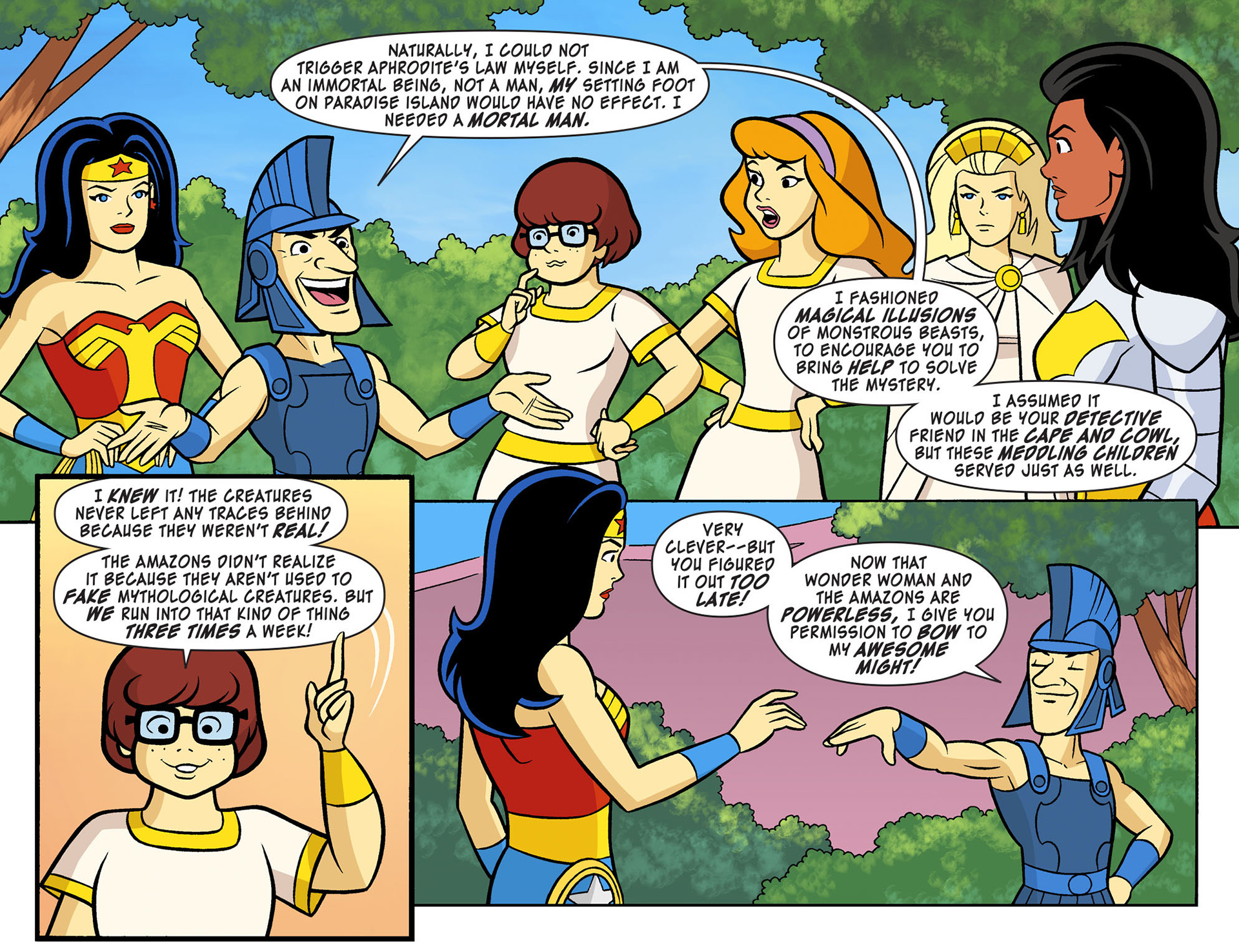 Read online Scooby-Doo! Team-Up comic -  Issue #10 - 17