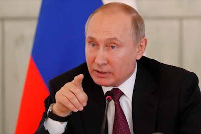 Presiden Rusia Vladimir Putin Sesalkan Pembatalan Pertemuan Trump dan Kim Jong-Un