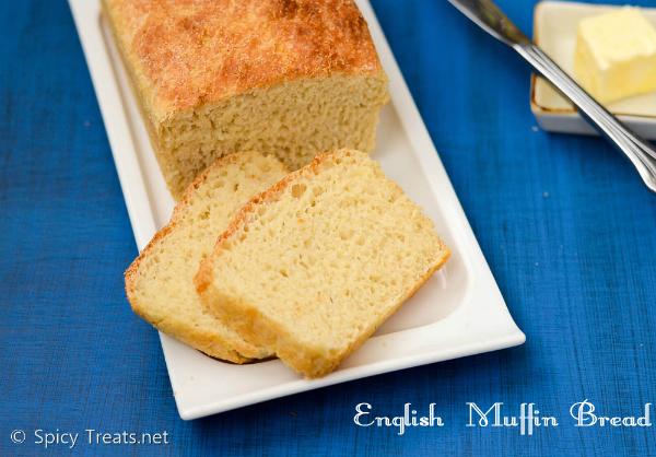 English Muffin Bread Recipe | No Knead Easy Bread Recipe | How To Make English Muffin Bread
