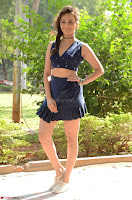 Seerat Kapoor Stunning Cute Beauty in Mini Skirt  Polka Dop Choli Top ~  Exclusive Galleries 028.jpg
