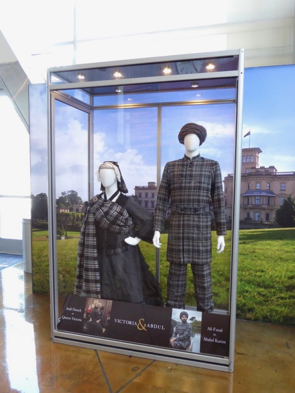 Victoria and Abdul movie costume exhibit