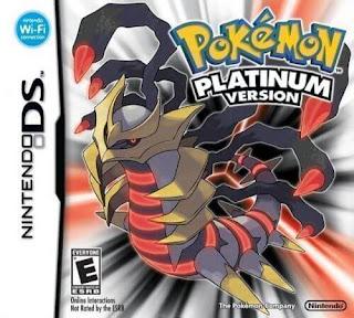 โหลดเกม ROM Pokemon Platinum .nds