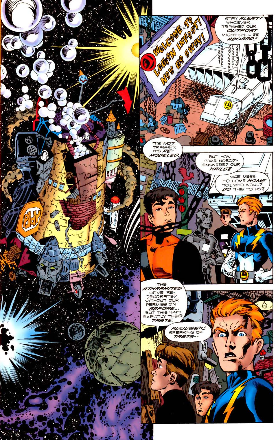 Legion of Super-Heroes (1989) 114 Page 1