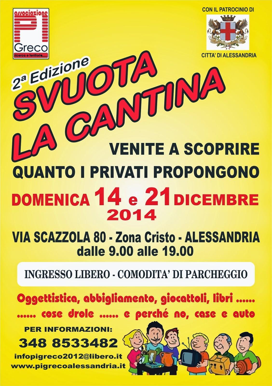 """Svuota Appartamenti Gratis Firenze associazione onlus pigreco: """"svuota la cantina"""""""