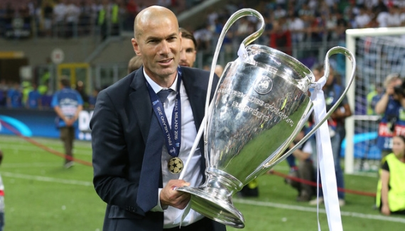 Zinedine Zidane became the first French coach to win the UEFA Champions League.