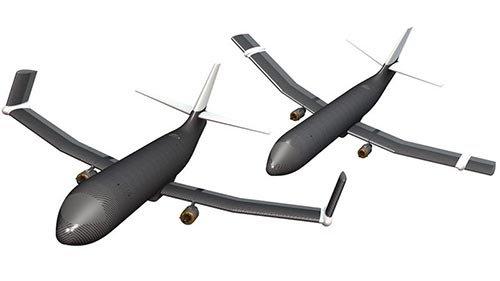 NASA Membuat Sayap Pesawat Mampu Melipat Dari Berbagai Sudut