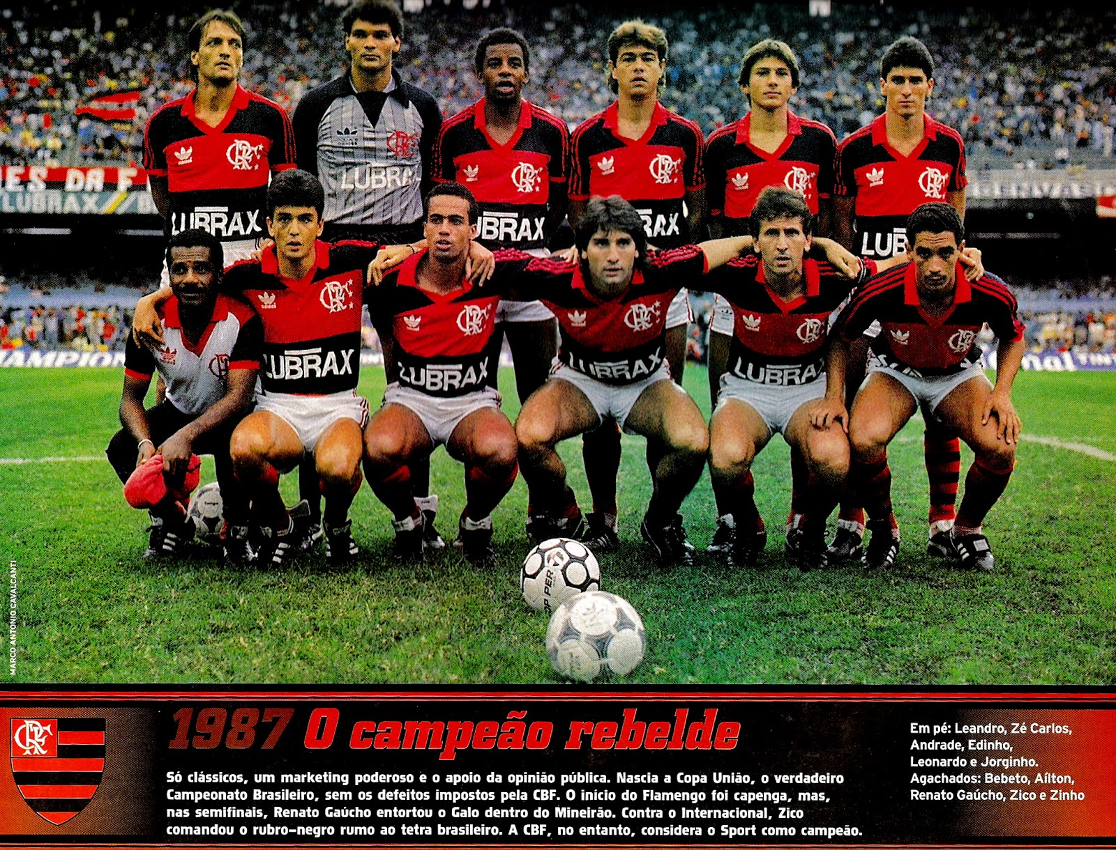 Resultado de imagen para flamengo 1987