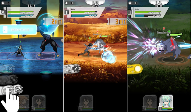Screenshot SWORD ART ONLINE Memory Defrag