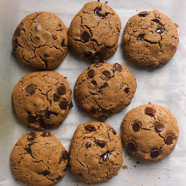 Recipe for Whole Grain Cookies
