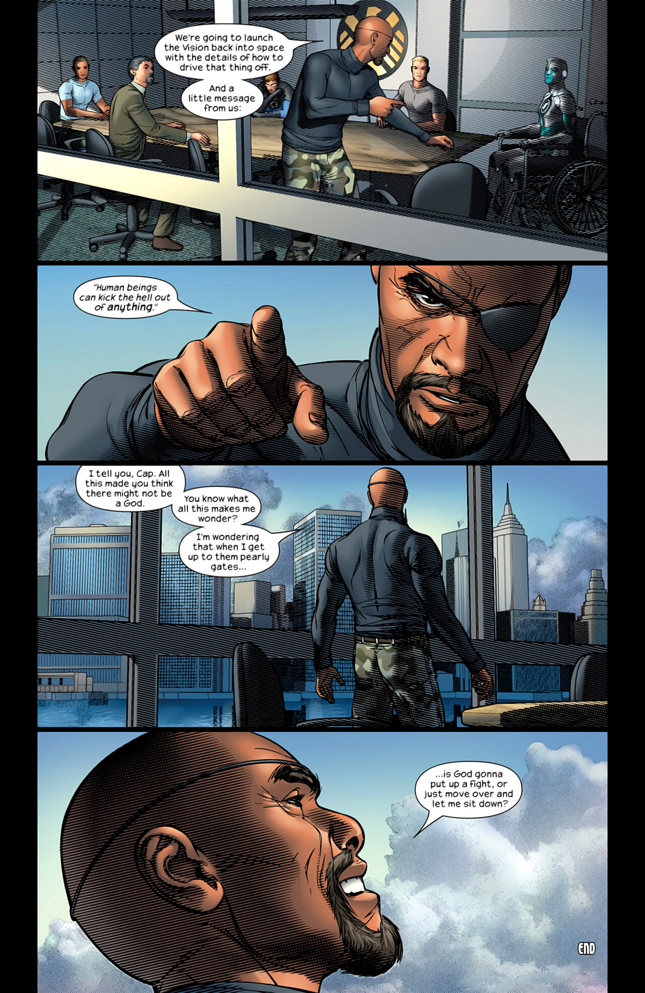 Read online Ultimate Extinction comic -  Issue #5 - 24