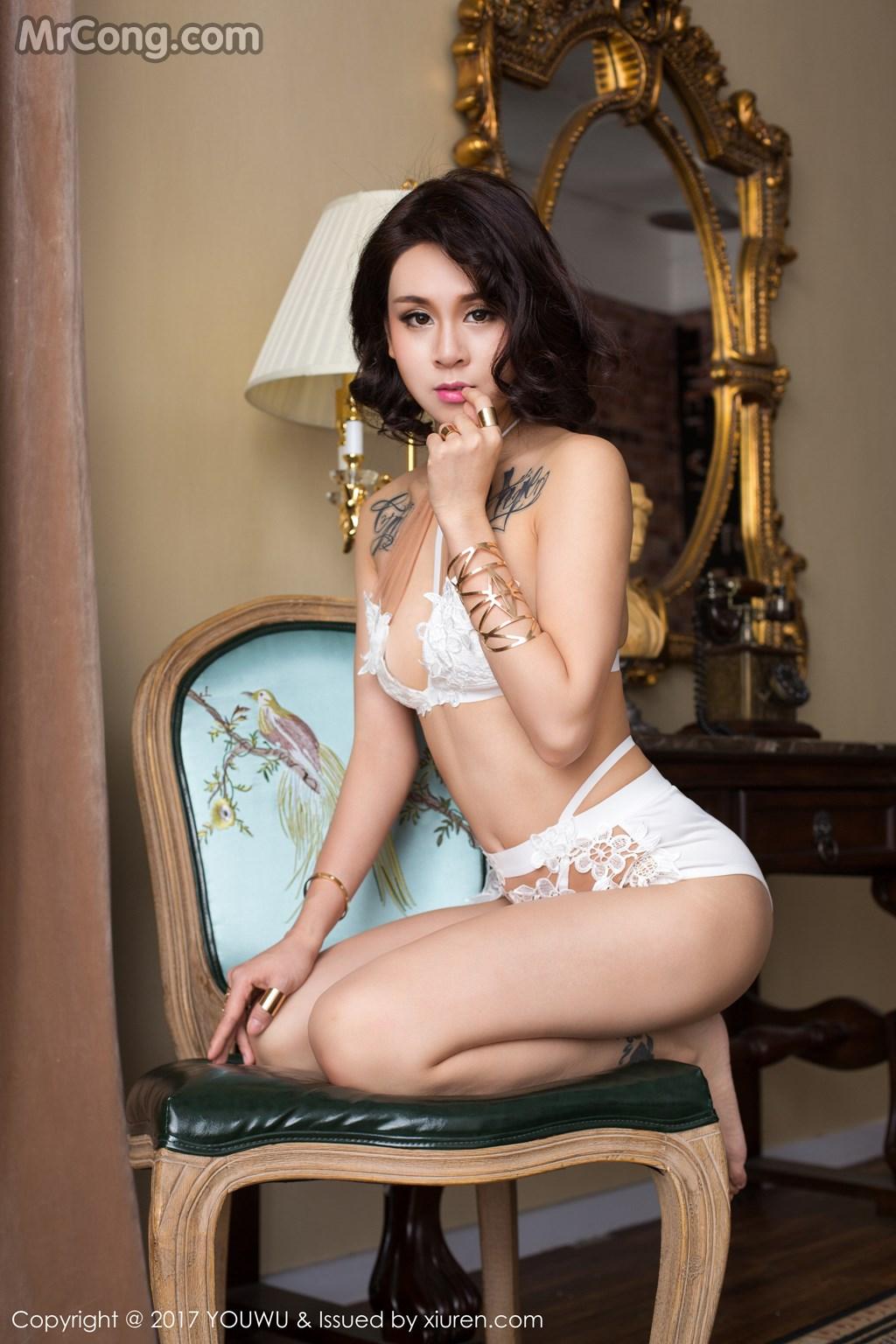 YouWu Vol.049: Người mẫu Amrita Zhen Zhen (Amrita贞贞) (55 ảnh)