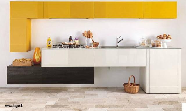Arquitectura de casas cocinas italianas modernas de colores for Colores para cocinas fotos