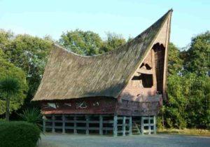 Rumah Balai Batak Toba Sumatera Utara