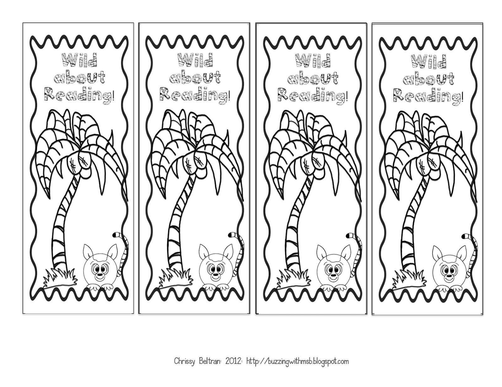 3-6 Free Resources: Printable Bookmarks