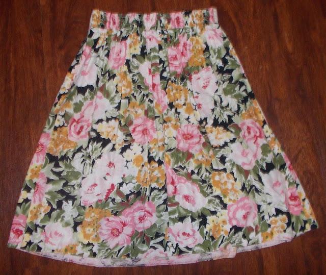 Women's Vintage Craig Skirt Floral