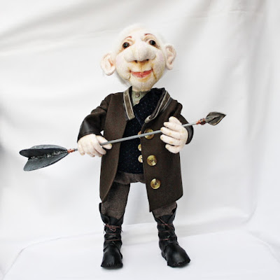 Edgar ooak art doll