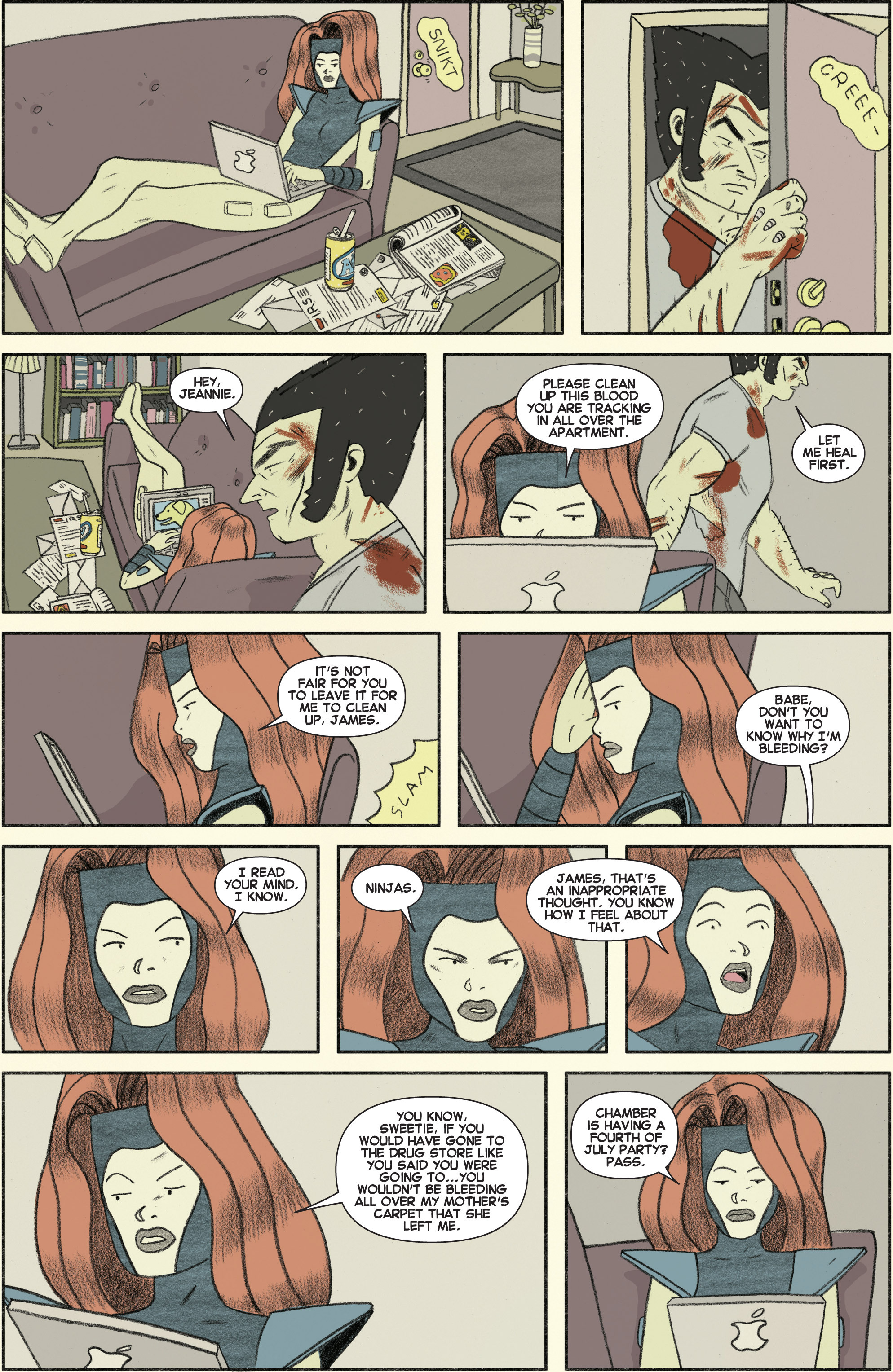 Read online All-New X-Men (2013) comic -  Issue #25 - 22