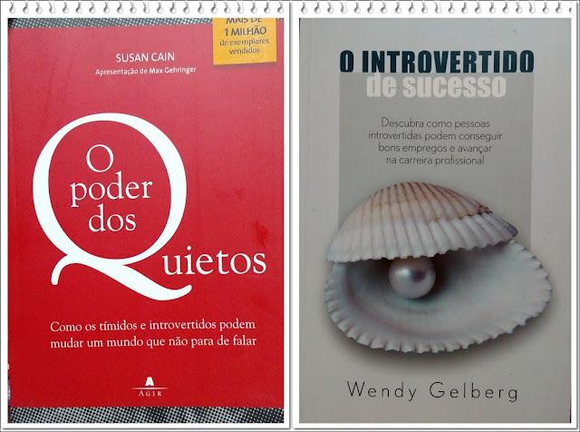 Sorteio dos livros O Poder dos Quietos e O Introvertido de Sucesso