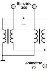 Schema adaptorului de impedanță