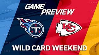 Titans Chiefs NFL Playoffs Wild Card Simulation