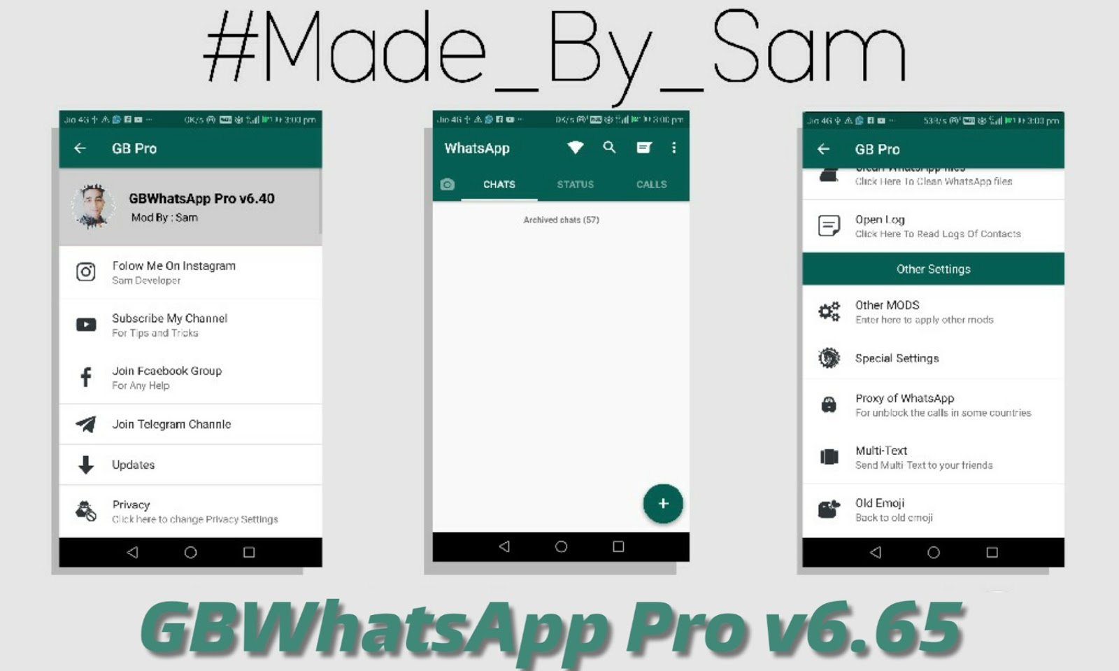 GBWhatsApp Pro 20.20 Fixed Latest Version Download Now By Sam