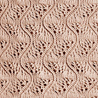 Eyelet Lace 72: Japanese Feather | Knitting Stitch Patterns.