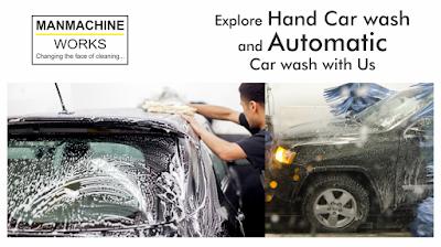 Manmachine Car washer