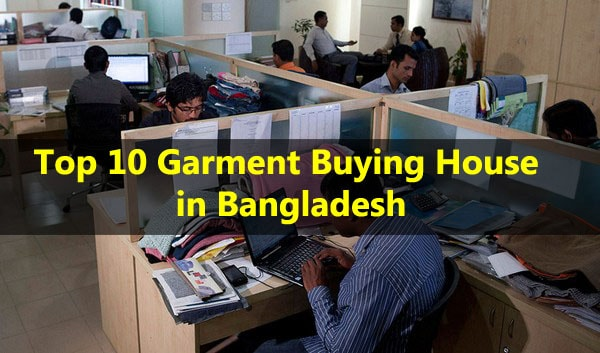 Merchandisers working in garment buying house