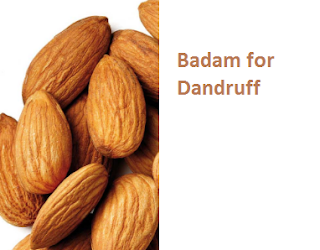 Health Benefits of Almond or Badam for Dandruff