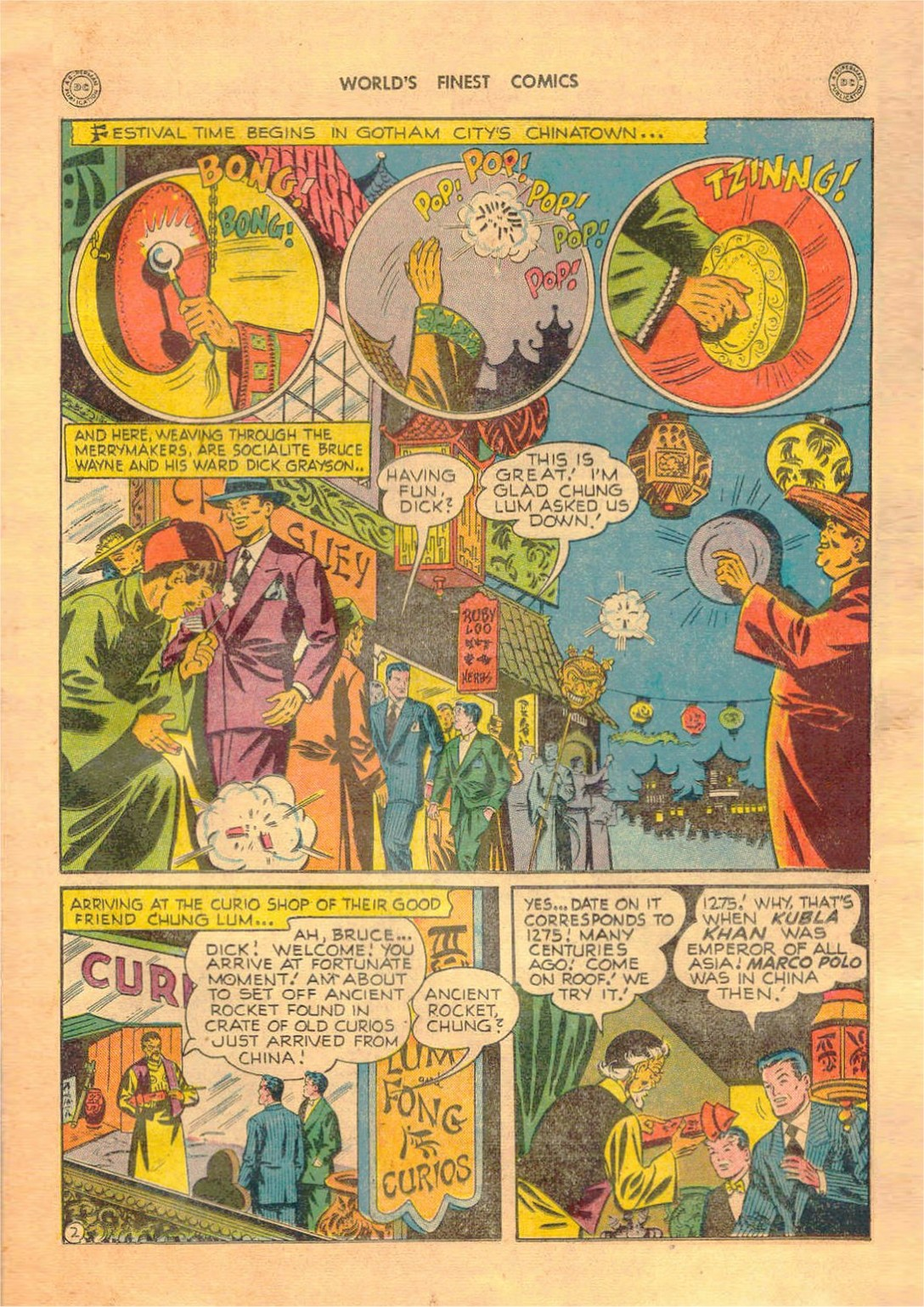 Read online World's Finest Comics comic -  Issue #42 - 63