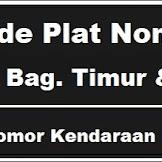 Kode Plat Nomor Kendaraan Seram Bag. Timur & Barat
