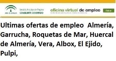 Almería, Lanzadera de Empleo Virtual