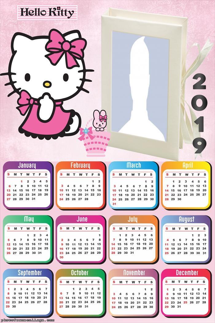 Calendario 2019 Disney Para Imprimir.Calendario 2019 De Hello Kitty Para Imprimir Gratis Ideas