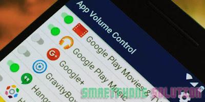 kita sanggup mengaturnya pada pengaturan volume Cara Praktis Memperkeras Suara Speaker HP Android
