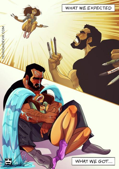 Man Draws Funny Comics Illustrating Everyday Life With His Partner - We Saw Logan
