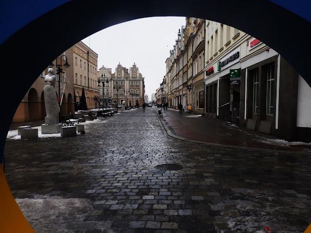 Widok na stare miasto w Opolu
