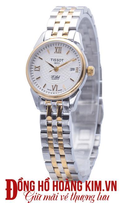đồng hồ nữ dây thép sang trọng