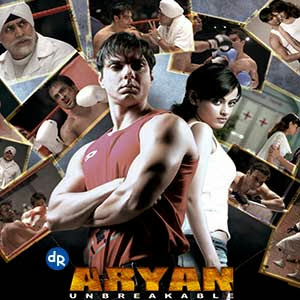 Poster Of Bollywood Movie Aryan (2006) 300MB Compressed Small Size Pc Movie Free Download worldfree4u.com