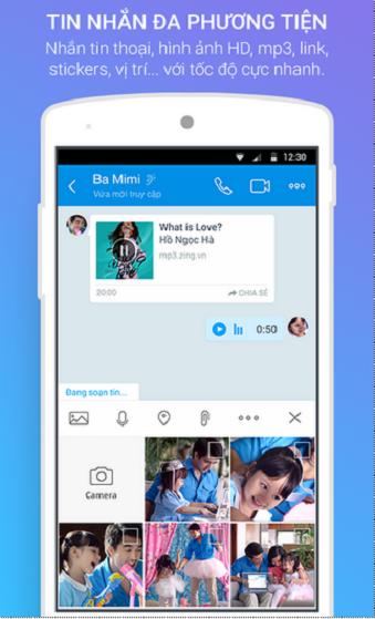 Tải Zalo cho điện thoại Android miễn phí 2