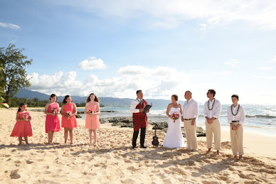 James & Amy at Papailoa Beach