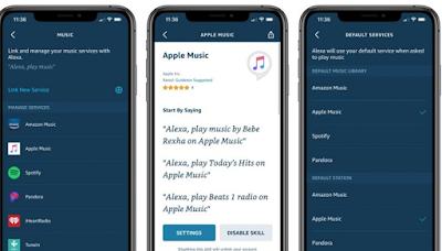 Apple Music Mendapat Dukungan Echo Alexa