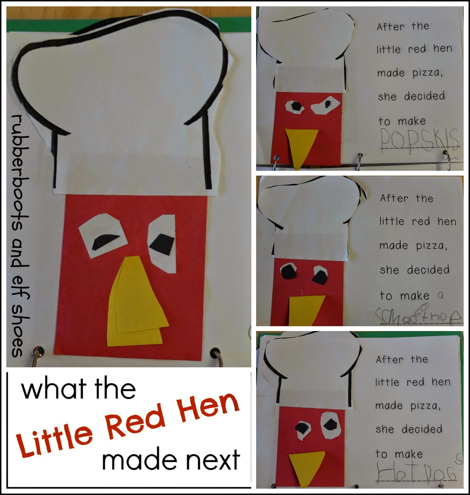 The Little Red Hen Make A Pizza Read Create And Write