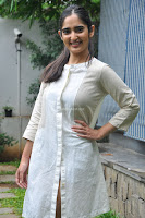 Radhika Cute Young New Actress in White Long Transparent Kurta ~  Exclusive Celebrities Galleries 062.JPG