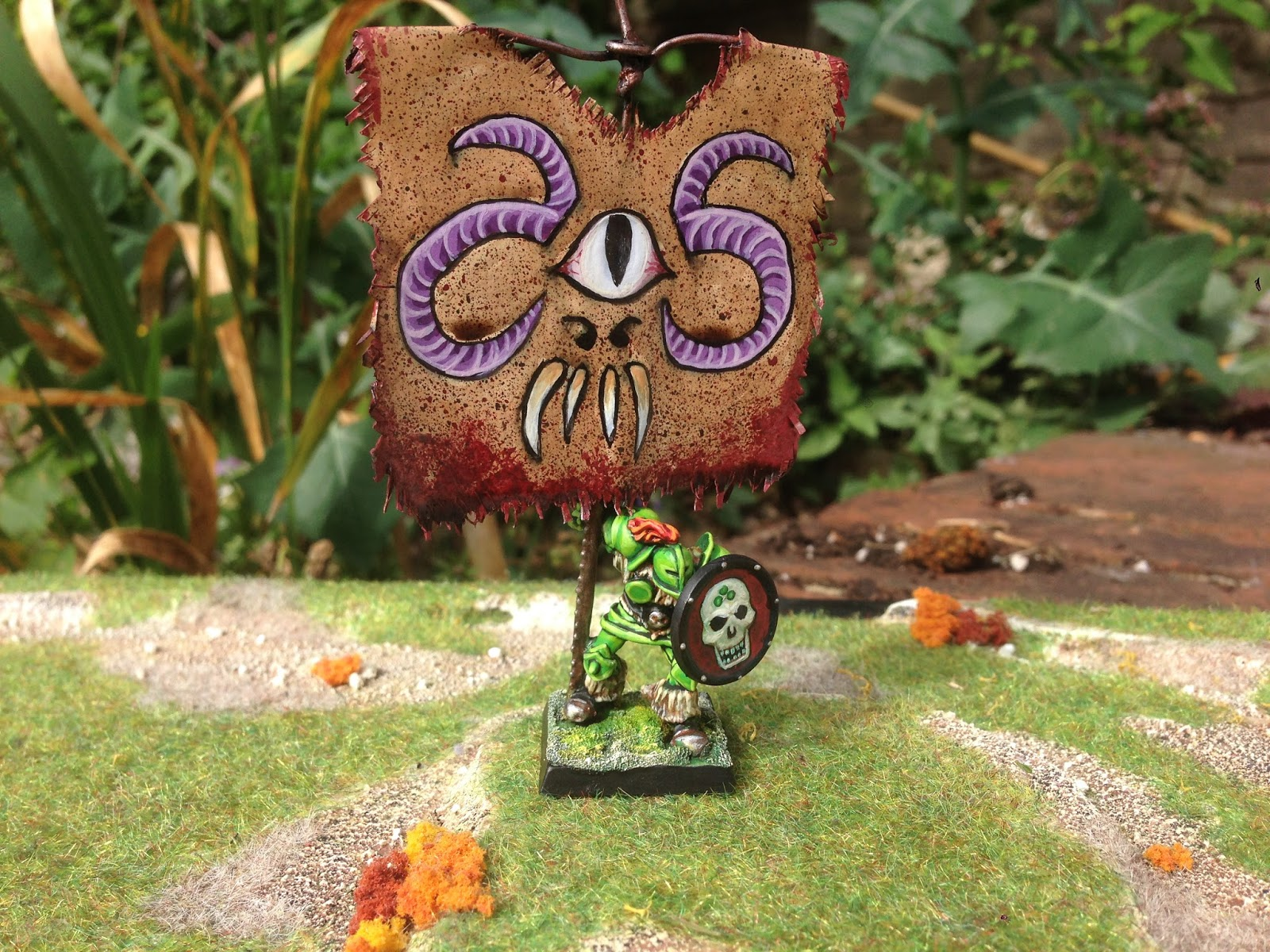 Realm of Chaos 80s: Nurgle Plague Banner