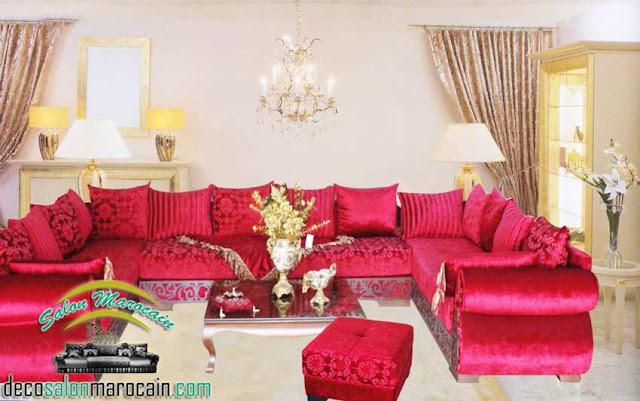 Salon Marocain Moderne Facebook: Salon marocain moderne de haute gamme ...
