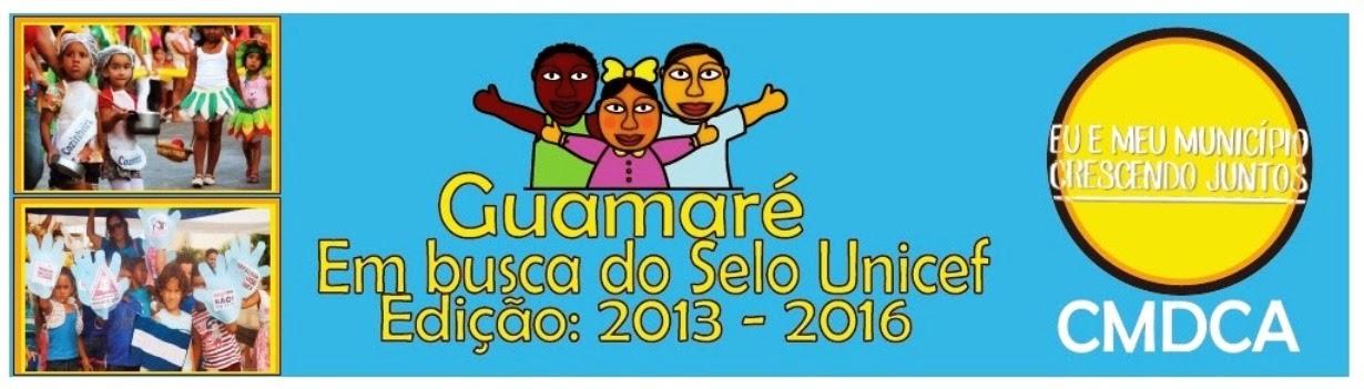 Selo Unicef Guamaré